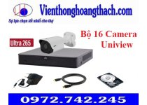 Bộ 16 Camera IP UNIVIEW 2MP