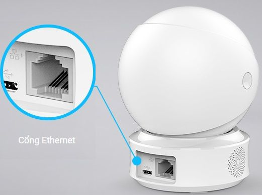 Camera WIFI có cổng LAN C6CN EZVIZ