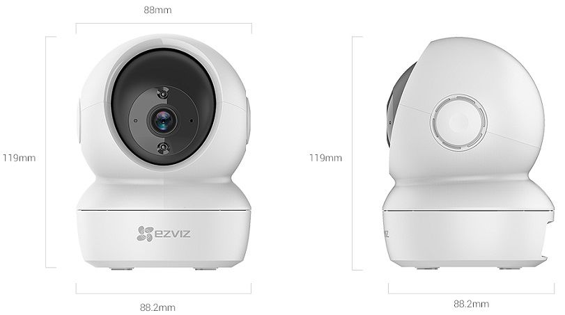 Camera IP WIFI CS-C6N EZVIZ Full HD 2MP