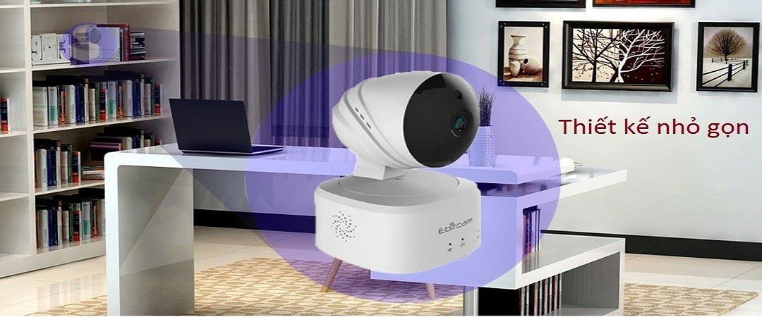 Camera ip wifi 360° E2 của Ebitcam