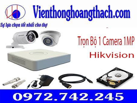 BỘ 1 CAMERA HIKVISION 1.0 MP