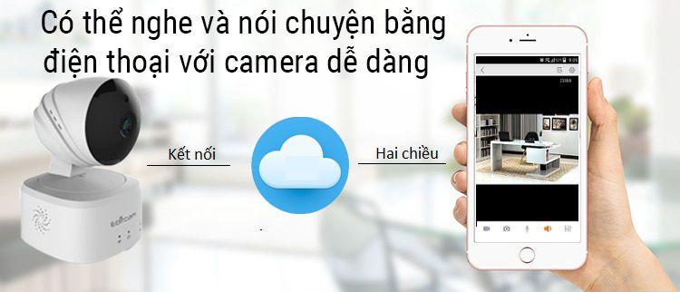 Camera IP wifi đàm thoại 2 chiều