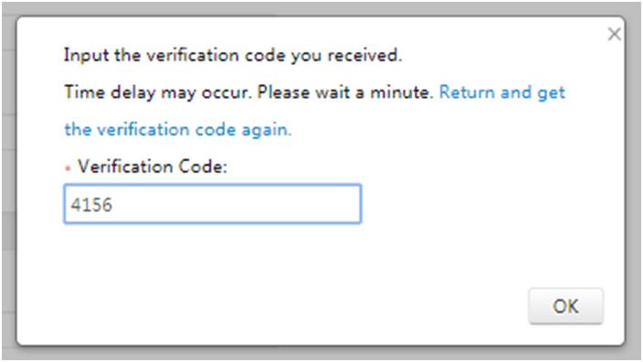 mã xác nhận tạo tài khoản Hikconnect, code xác nhận tạo tài khoản Hikconnect
