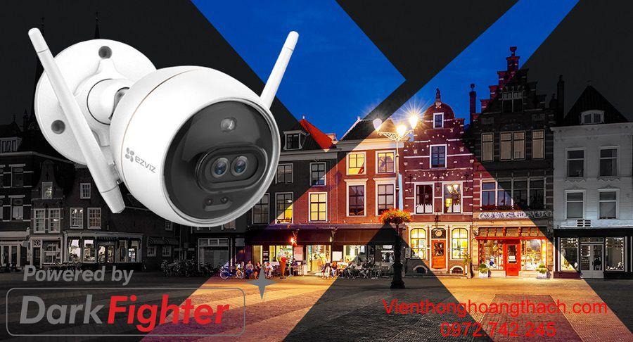 Camera C3X  với công nghệ Darkfighter