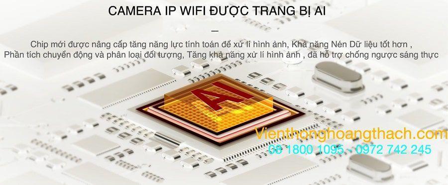 Chip mới được nâng cấp trên camera C6CN