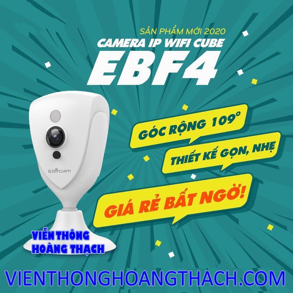 CAMERA IP WIFI EBITCAM EBF4 2.0MP