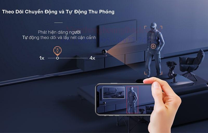Smart IP Camera báo động chống trộm C6W