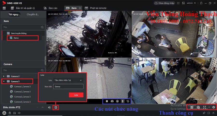 xem camera hikvision trên phần mềm IVMS 4200