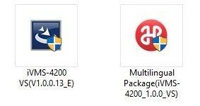 gói cài đặt phần mềm IVMS 4200