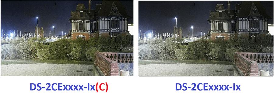 Chất lượng màu sắc cao hơn trên camera DS-2CE16D0T-It3(C)