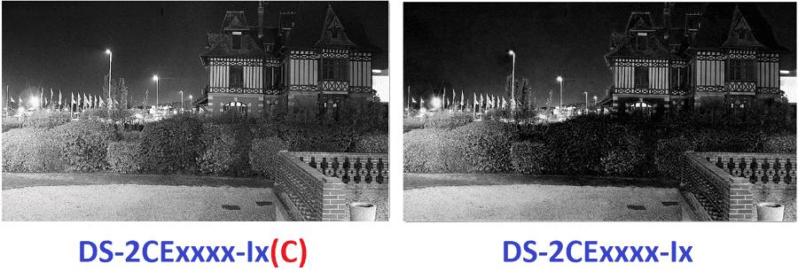 Hình ảnh quan sát hồng ngoại của camera camera DS-2CE16D0T-IT3(C)