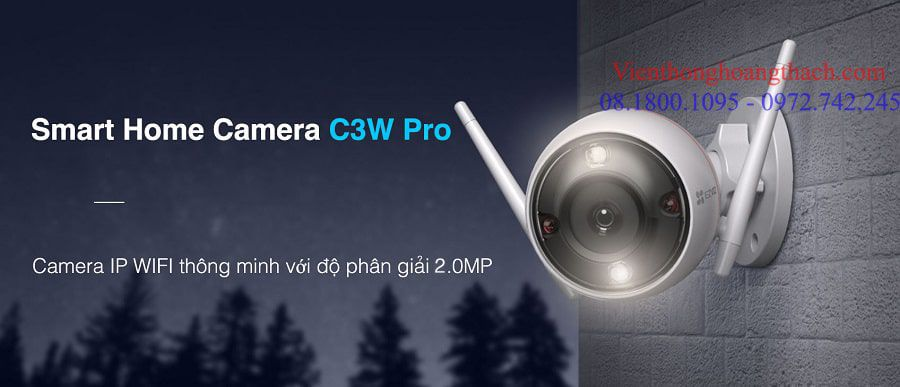 Smart Home Camera C3W Pro 2.0MP Của EZVIZ
