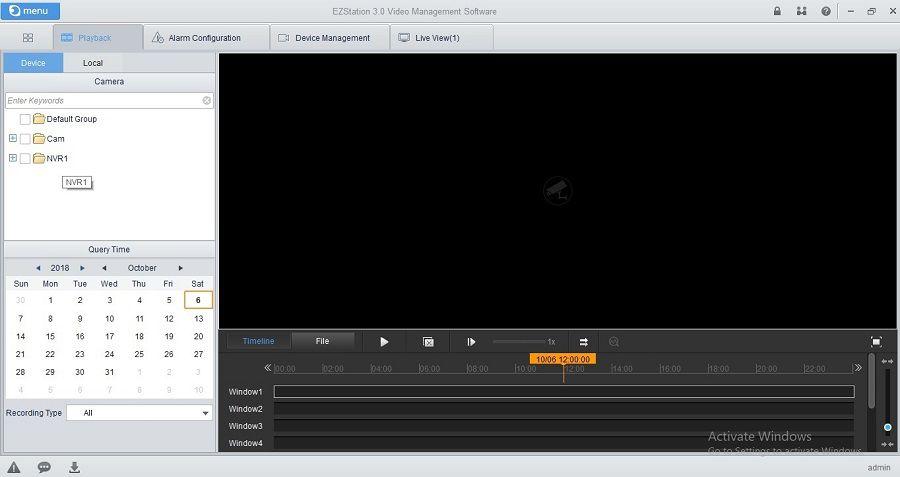 EZStation Software – Phần mềm quản lý camera UNV trên PC