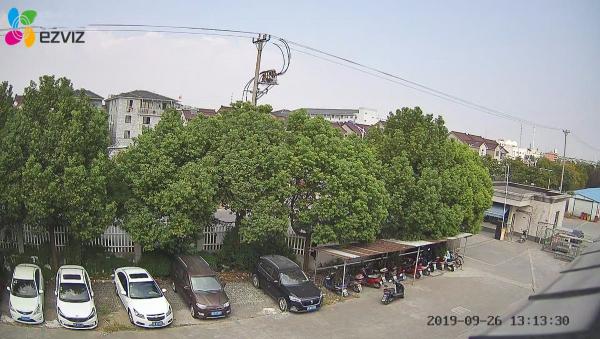 DEMO HÌNH ẢNH từ camera wifi EZVIZ C4X