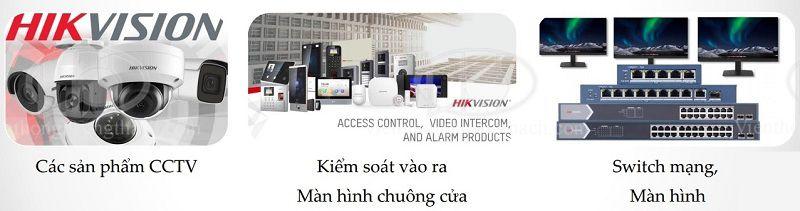 Quy tắc đặt tên và đọc mã sản phẩm camera Của hikvision