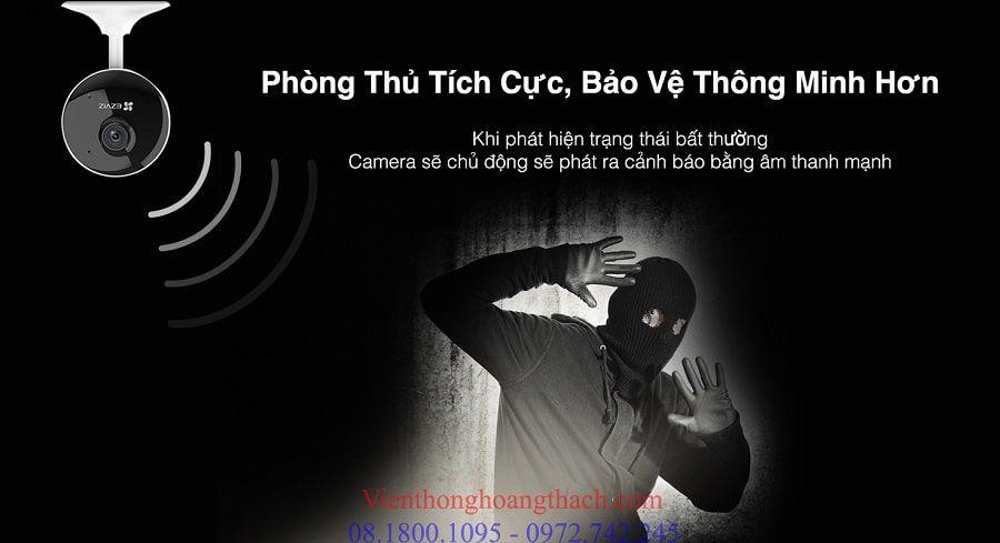 camera báo động chống trộm c1c-b