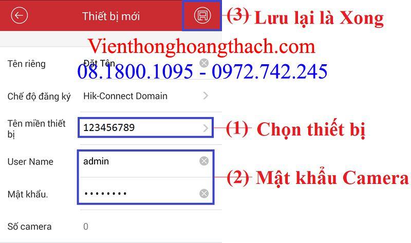 cài đặt Hik-Connect Domain lên IVMS-4500