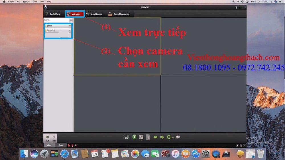Xem camera HIKVISION trên MAC OS