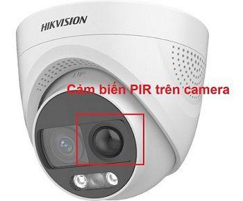 Camera với cảm biến PIR Của HIKVISION
