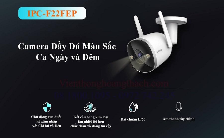 Camera WIFI IPC-F22FEP giá rẻ của IMOU