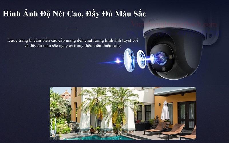 Camera WIFI PTZ có màu ban đêm S22FP