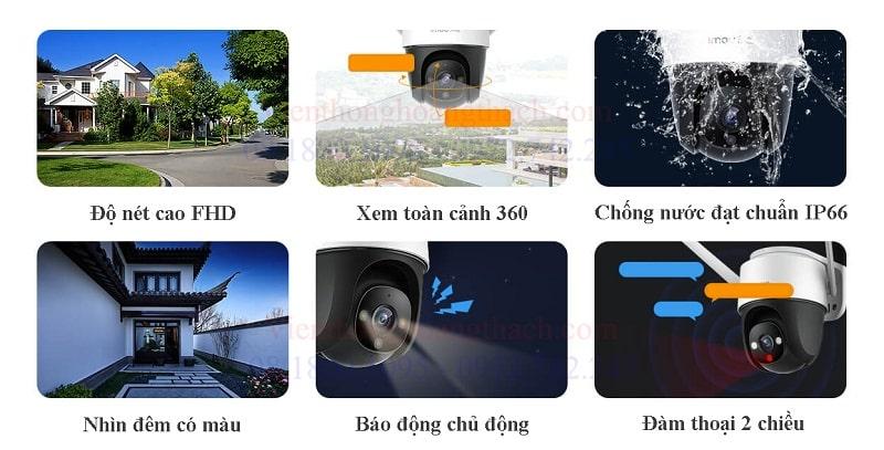 Các tính năng thông minh của camera IMOU