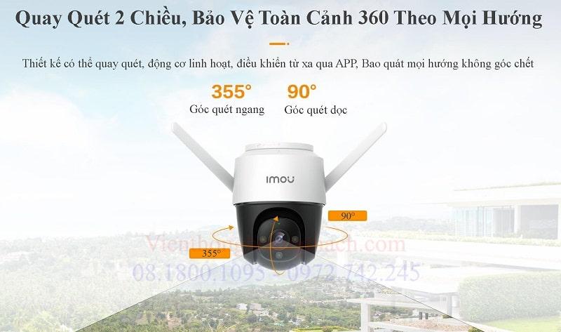 camera quay quét 360 ngoài trời IPC-S22FP