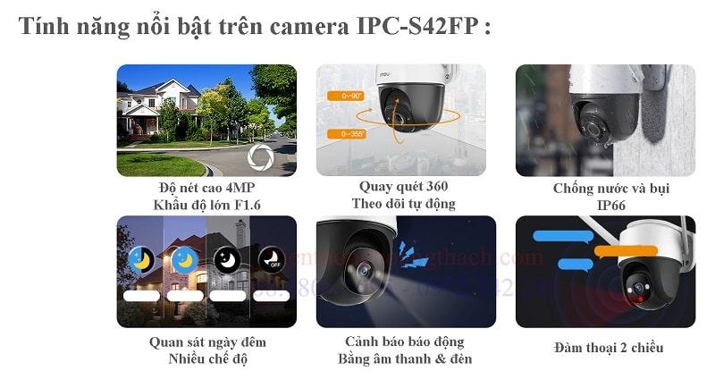Tính năng thông minh của camera IPC-S42FP
