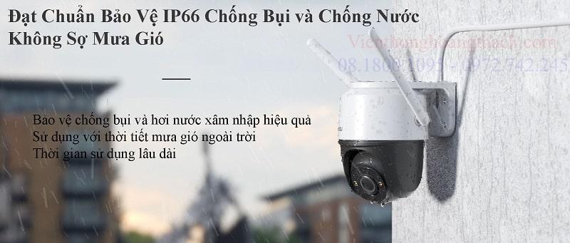 Camera WIFI PTZ gắn ngoài trời IPC-S42FP