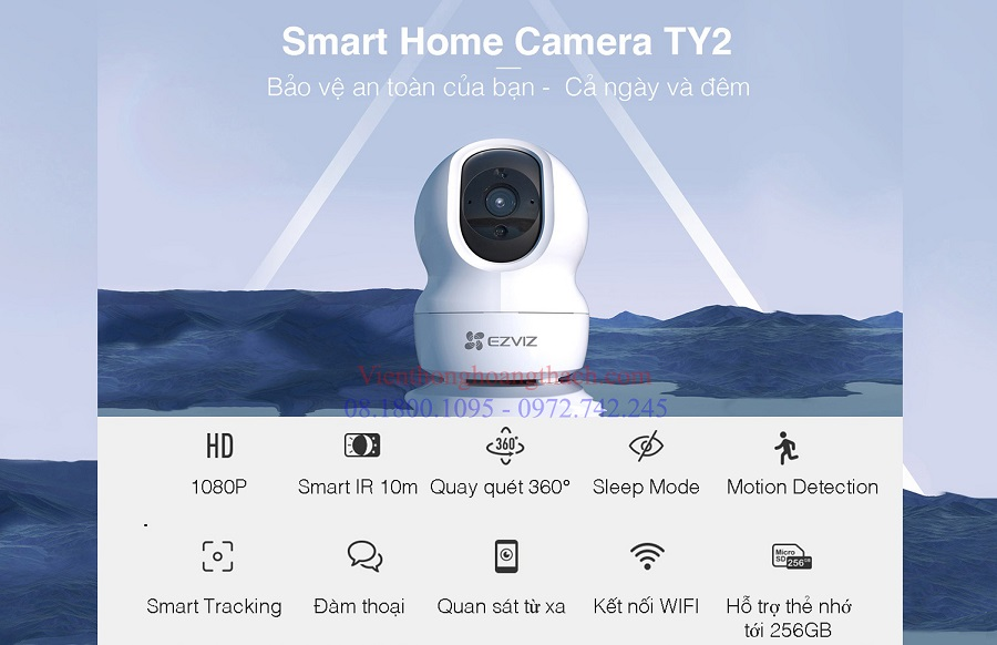Smart camera wifi ty2 của HIKVISION