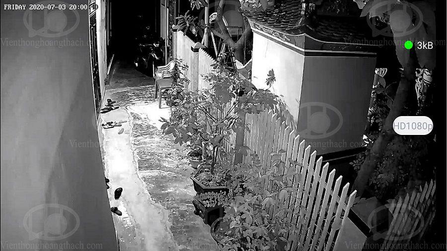 Quan sát hồng ngoại ban đêm với camera ED843 EBITCAM