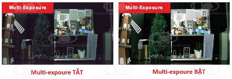 Tăng cường độ sáng và độ sắc nét cho camera với kĩ thuật chồng hình Multil-Exposure