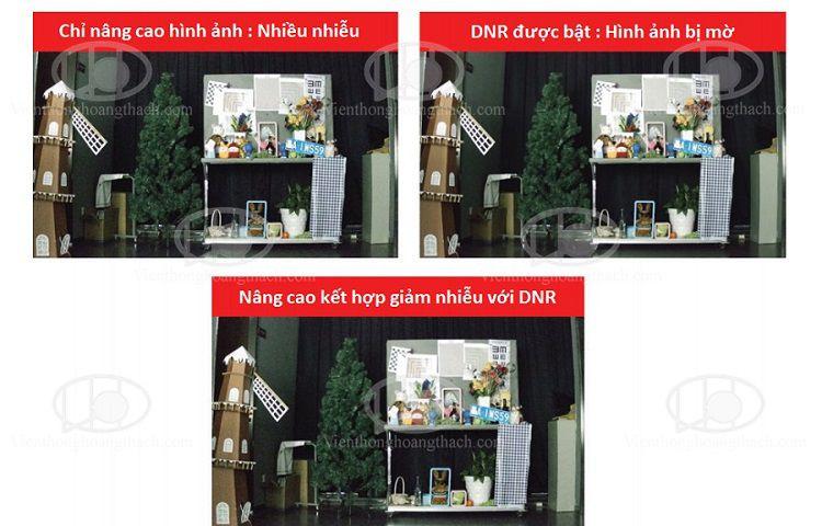 giảm nhiễu trên camera hikvision với 3D DNR
