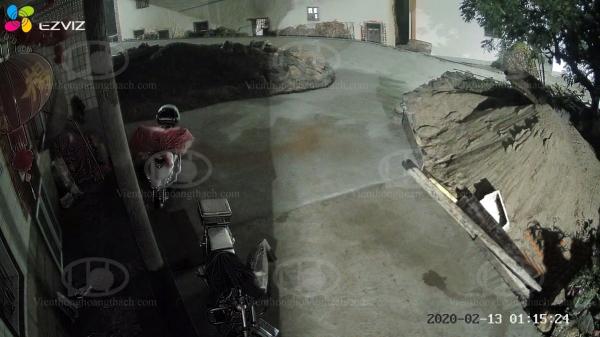 Hình ảnh ban đêm camera C4X