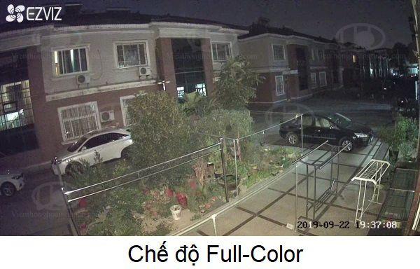 chế độ có màu Full Color trên camera C3N