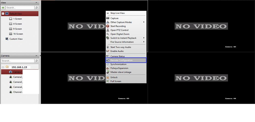 đổi mật khẩu trên ivms 4200 trong phần cài đặt
