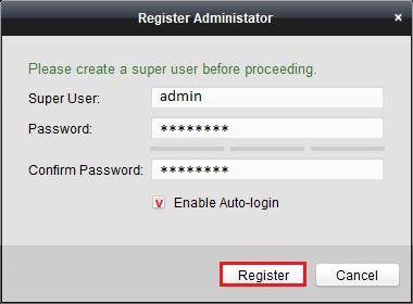 phần mềm IVMS-4200 Client