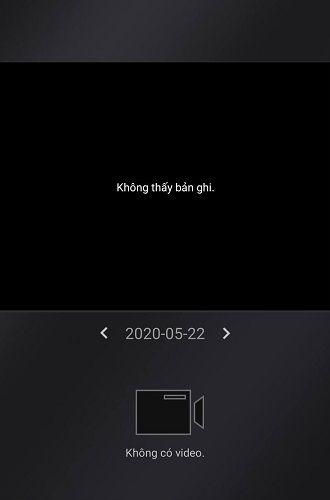 lỗi không thấy bản ghi trên camera Hikvision