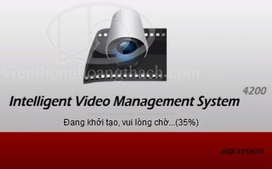 Phần mềm IVMS-4200 Client cho camera Hikvision