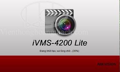 Phần mềm IVMS-4200 Lite bản rút gọn