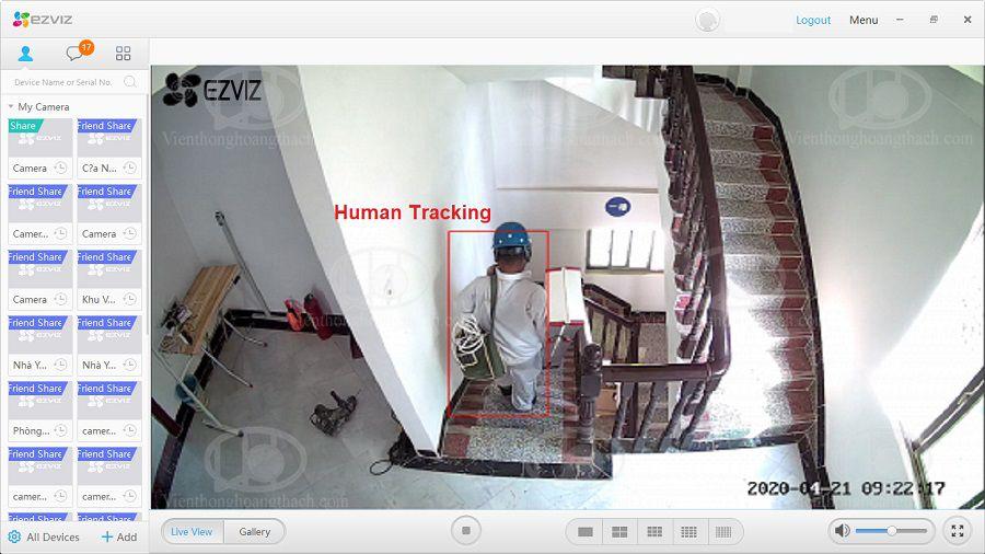 Human detection trên camera C3N