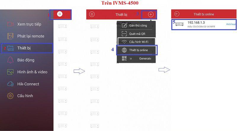 Tìm địa chỉ ip lan nội mạng với phần mềm IVMS-4500