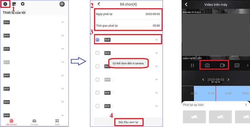 sử dụng dịch vụ hikconnect trên hikconnect